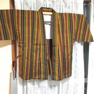 羽織り 着物 ストライプ