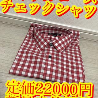 【ラスト1点大人気商品!!マイケルコース チェックシャツ 新品未...