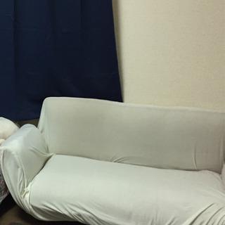 2人用のソファー