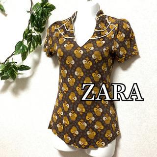😈 ZARA collection ザラ 花柄 L