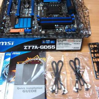 MSI製 ATXマザーボード Z77A-GD55 LGA1155