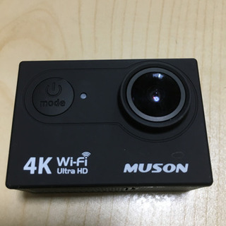 muson アクションカメラ
