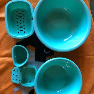 【未使用】洗面器セット バス用品 風呂用品
