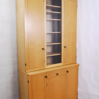 2668 バーズアイメープル 食器棚 収納棚 高さ207.…