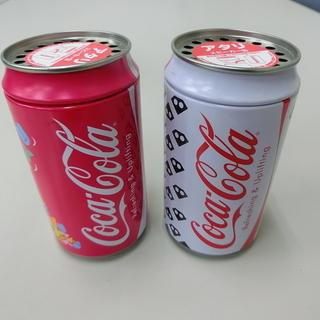 ◆お引取り限定/三重県◆ 中古  コカ・コーラスピーカー缶 2缶...