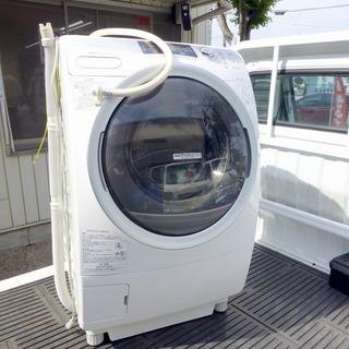 ドラム式洗濯乾燥機9kg 東芝電気洗濯乾燥機 TW-Q780L 中古