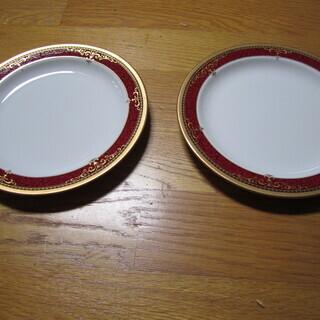☆彡 食器 中皿 2枚セット 新品 未使用 オシャレなお皿 ☆彡
