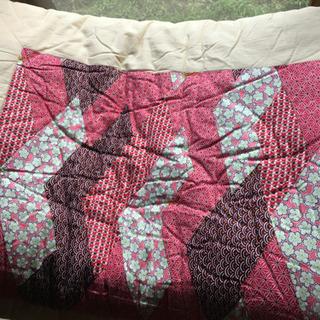 お取引中 手作り 掛布団 綺麗 その他毛布など