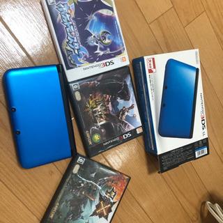美品Nintendo 3DSLL ブルー(引取中)