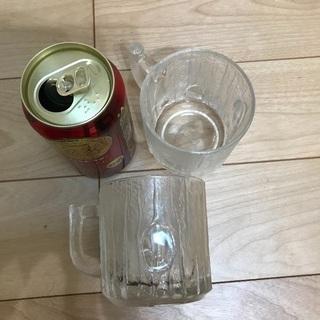 122、ビールジョッキ(小)2個 - 岡山市