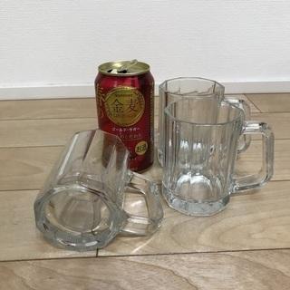 123、ビールジョッキ(小)3個