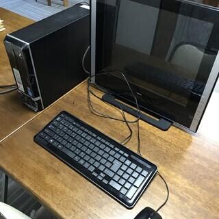 マウスコンピューター デスクトップ モニター、キーボード、マウス付き