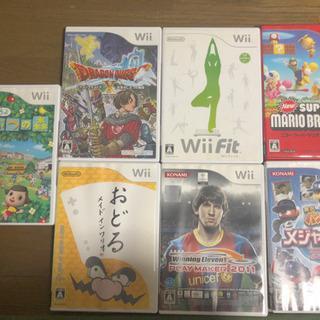 【値下げ】Wiiソフト  7本