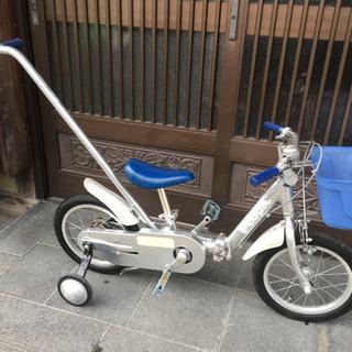 折りたたみ機能付き幼児用自転車14インチ