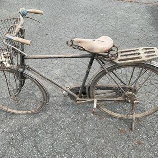 松下▲自転車!レトロ!レストア!オブジェに!