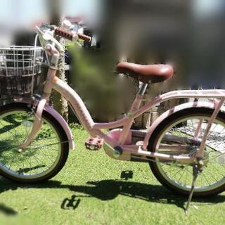 女の子自転車18インチ