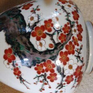 高級な花瓶✨綺麗な花柄✨