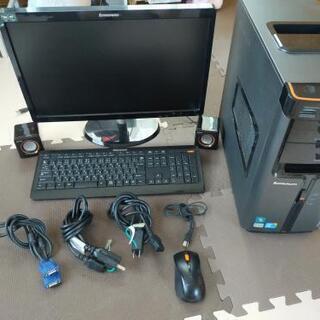Lenovo レノボ corei5 500GB デスクトップPC一式