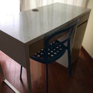 IKEA 机 & 椅子 セット