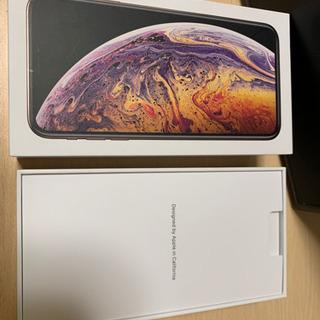 iPhoneXsMax64G 箱と純正イヤホン(未使用品)