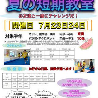 えらべる!夏の短期教室 体操 - スポーツ