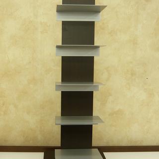 ブックタワー  本棚 5段 ブックスタンド ブックラック 収納 ...