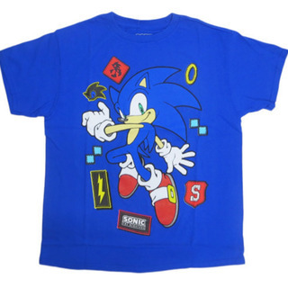 T シャツ SONIC THE HEDGEHOG VIDEO GAME