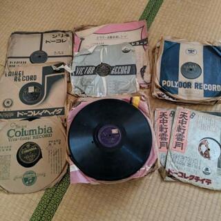 昔懐かしいSPレコード 78rpm 60枚