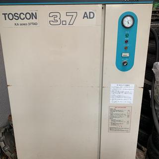 TOSHIBA コンプレッサー 3.7kw 5馬力