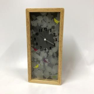 定価4000円相当!新品 掛け時計 スクエア型 縦26cm…