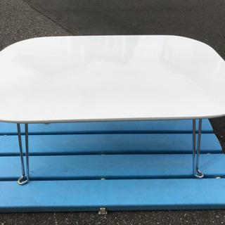 未使用保管品 2WAY テーブル型アイロン台 ホワイト