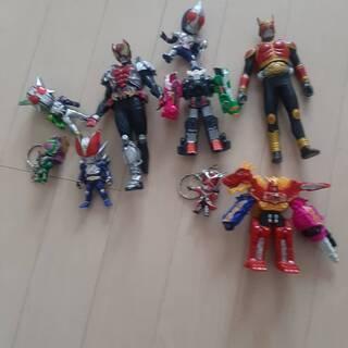 【仮面ライダーW】おもちゃ3【中古】 フィギュア、キーホルダー 他