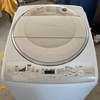 2009年 東芝 8k  洗濯乾燥機