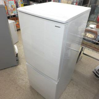 冷蔵庫 137L 2018年製 2ドア 白 ホワイト SHARP...