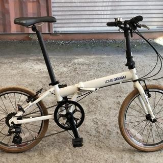 ルイガノ 20インチ 折りたたみ自転車