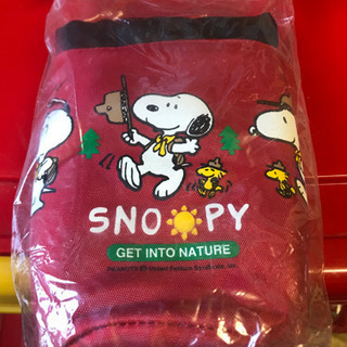 SNOOPYのソフトクーラーバック