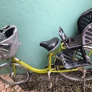 子供乗せ自転車(※電動ではありません)