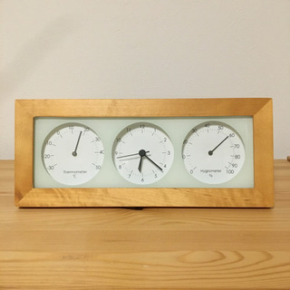 ニトリ 置き時計 掛け時計