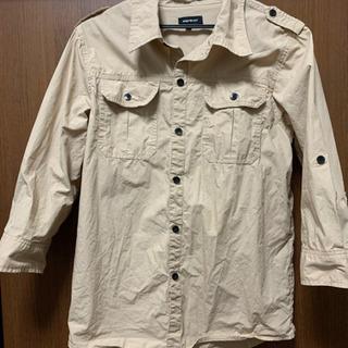 ワークシャツ 七分袖 美品
