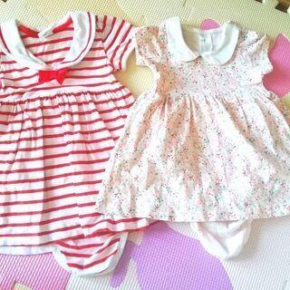 子供服〜女の子ドレス〜夏 ベビードレス〜女の子ワンピース〜H&Mドレス