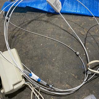 NTT回線室内を光ケーブル約3メーター