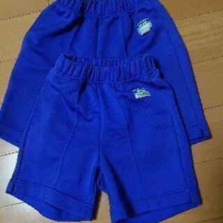 小学校体操着サイズ140(ブルー)120(ブルー)