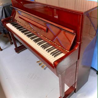 ワインレッドのお洒落なカワイピアノ CS-14S