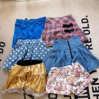 150cm 女児 スカート、パンツ