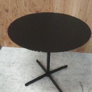 ☆お値下げ☆黒丸テーブル