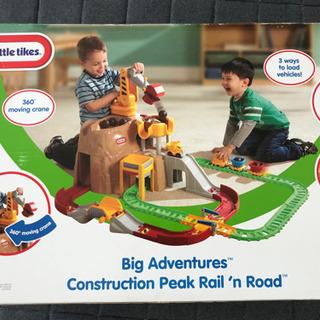 【大型玩具】little tikesの電車と車のおもちゃ