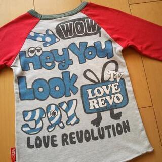 LoveRevolutionラブレボリューション120ラグランロ...