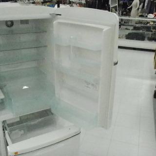 冷蔵庫 大型 260L 2001年製 200Lクラス ノスタルジックデザイン WiLL FRIDGE ナショナル NR-B26B1-W ホワイト 200Lクラス 2ドア 苫小牧西店 - 苫小牧市