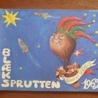 デンマーク イラスト 雑誌 blaeksprutten