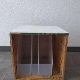 ハンドメイド木箱とファイルケース